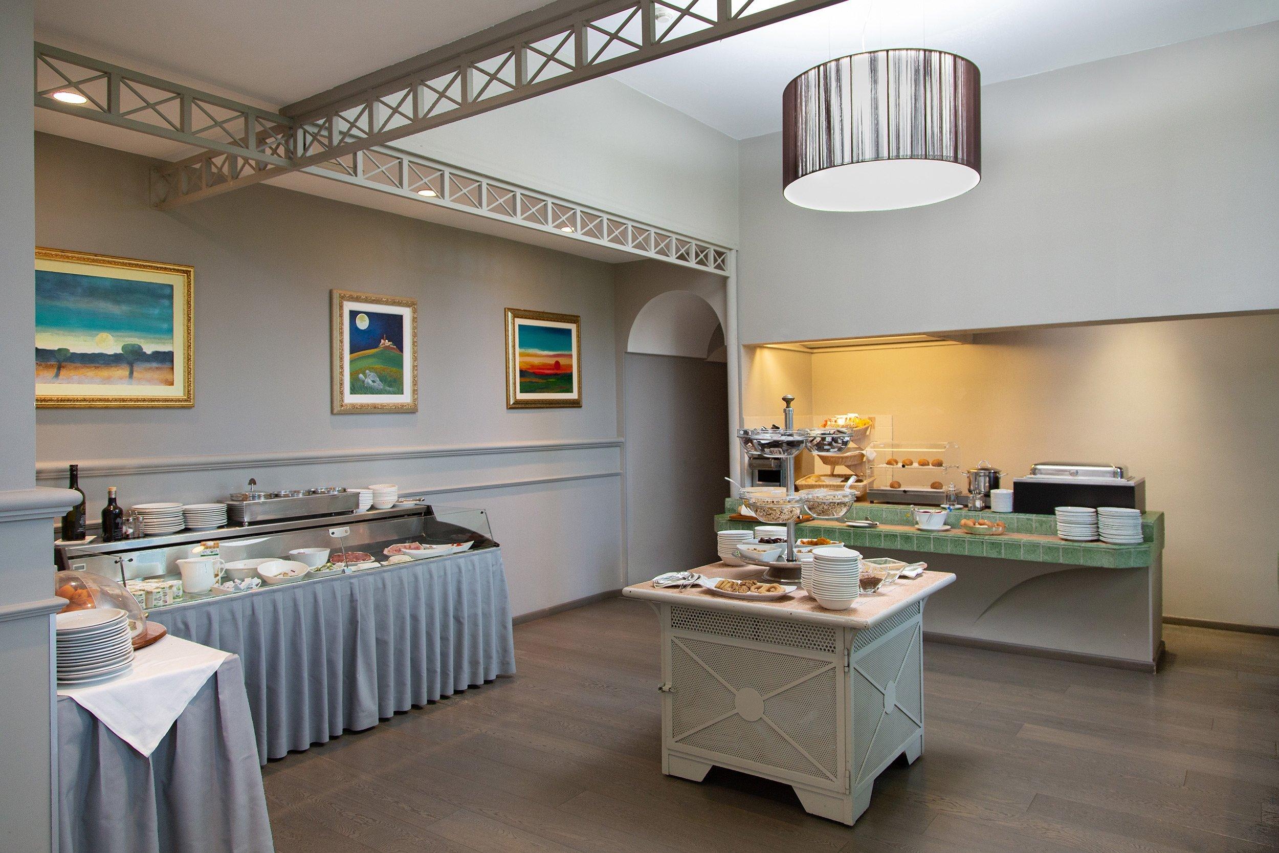La sala colazioni - Hotel Castello Santa Vittoria