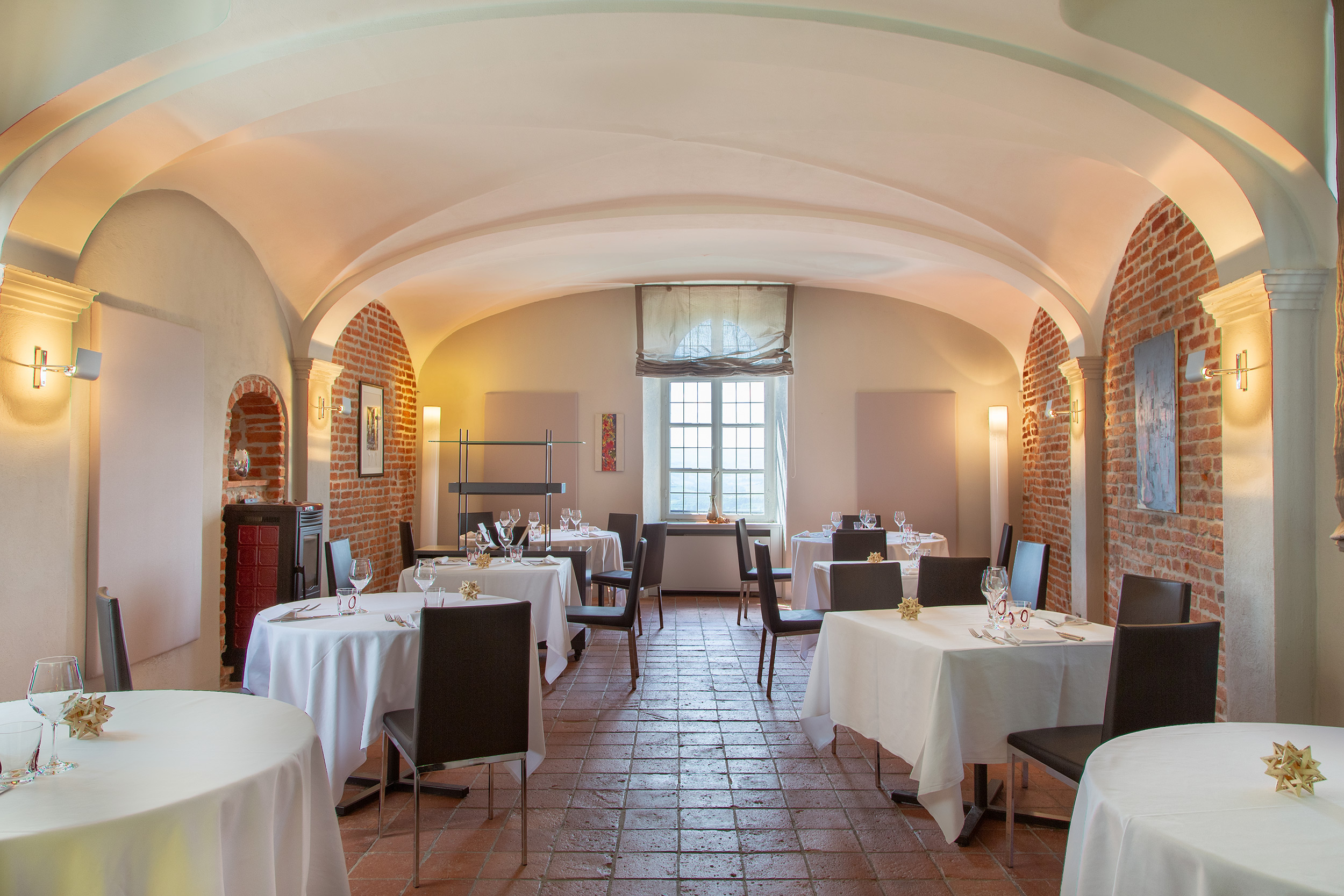 The restaurant room - Hotel Castello Santa Vittoria